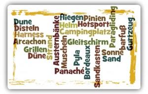 Dune du Pyla: Mit dem Gleitschirm im Sandkasten